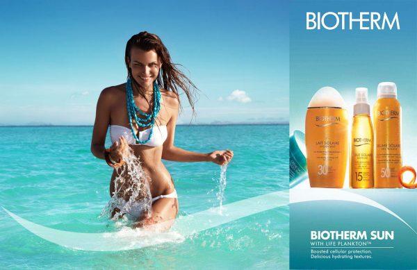 solaire biotherm thiemo sander beach