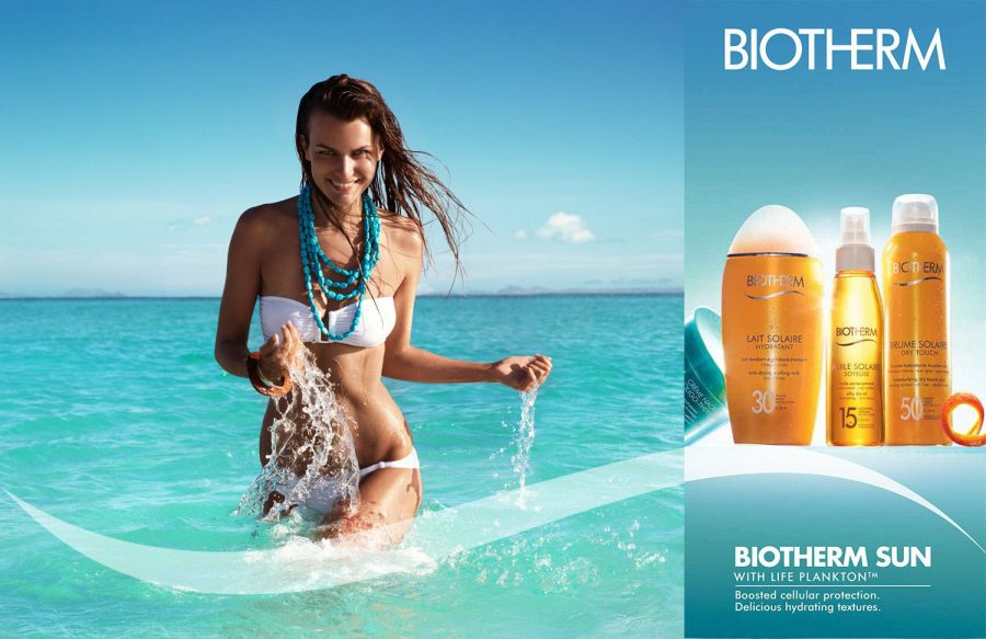 solaire biotherm thiemo sander beach